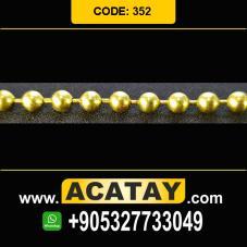 Brass Ball Chain